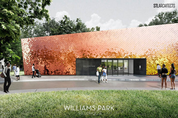 Rahm Emanuel is expected to announce Tuesday plans for a new field house in Williams Park.