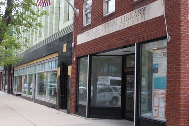 The Bee library branch in Bronzeville at 36th and State Street is getting upgrades that will add two stories with new areas for a digital lab and meetings.