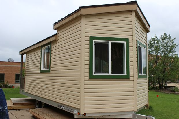 Students at the Chicago High School for Agricultural Sciences in Mount Greenwood built a tiny house for the Chicago Flower and Garden Show in 2015. The home is for sale and will be showcased as part of the 47th annual Beverly Hills/Morgan Park Home Tour.