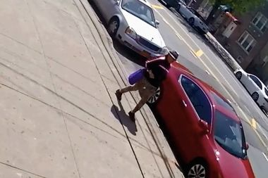 Police are looking for this woman who they saw hurled anti-Muslim remarks at a pedestrian in The Bronx.