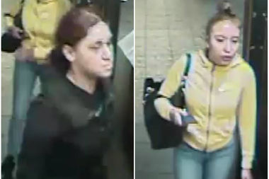 Police released photos of two suspects in an attack on a teen girl at the 82nd Street station.