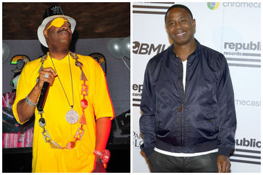 Rappers Slick Rick and Doug E. Fresh (L-R) will perform as part of this year's Bronx Week celebrations.