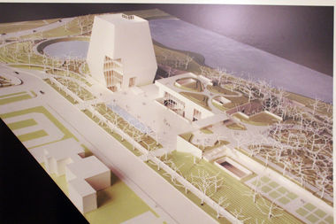 The main structure of the Obama Presidential Center is expected to be just off Midway Plaisance.