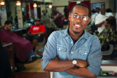 Alvin Irby, a comedian and former teacher, founded Barbershop Books in 2013.