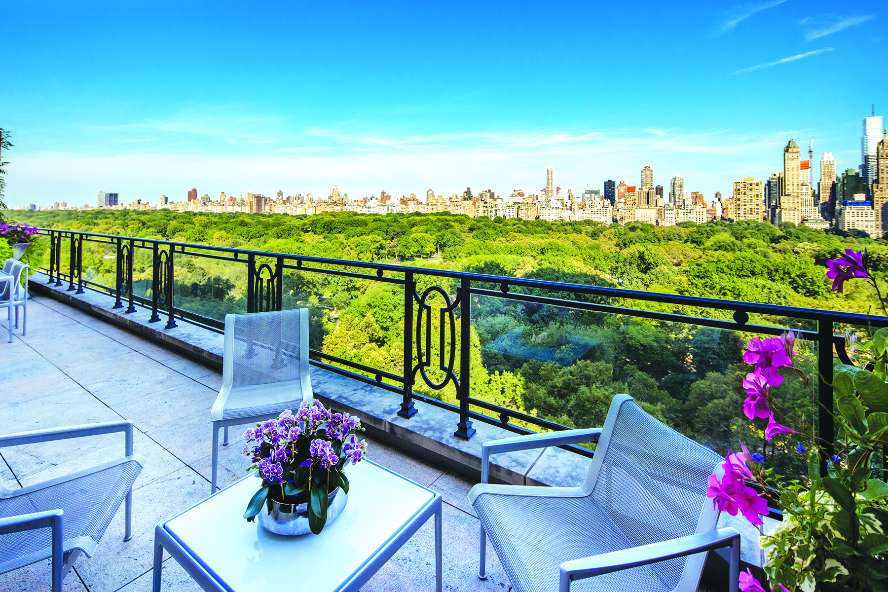 Sting selling penthouse on central park west for 56m for New york city penthouses central park