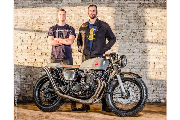 Brothers Michael and Peter Müller have opened Federal Moto, a custom vintage motorcycle shop on the Near West Side.