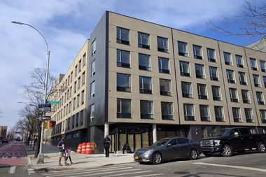 A new homeless shelter at 267 Rogers Ave. in Crown Heights houses 132 families.