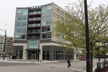 Clybourn 1200 is a 77-unit building with 30 percent CHA residents, 30 percent affordable housing and 40 percent set at the market rate.