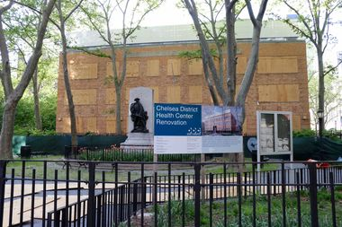 The Chelsea Clinic at 303 Ninth Ave., between West 27th and 28th streets.