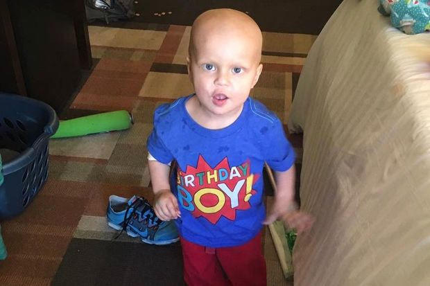 Beau Dowling celebrated his second birthday May 7 at the Ronald McDonald House near the Ann and Robert H. Lurie Children's Hospital of Chicago. He returned home the next day after spending six weeks in the Streeterville hospital.