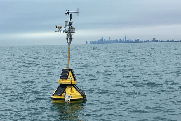 Thousands of Chicago boaters use the buoy to find out whether they should hit the water each day.