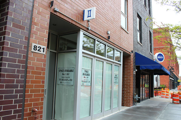 A Kit and Ace store at 821 W. Fulton Market has closed.