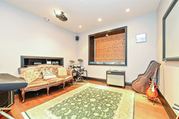 A Fourth Bedroom Designed As A Media Room With A Home Theater Housed Inside  A Renovated 1896 Church