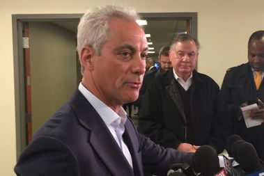 Mayor Rahm Emanuel Wednesday said schools will stay open until the end of the regularly scheduled school year despite the revelation that the state of Illinois owes Chicago Public Schools approximately $467 million.