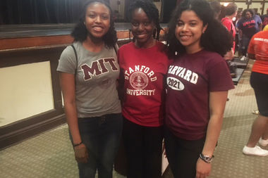 Three teen girls from the South Side will be attending some of the top universities in the country.