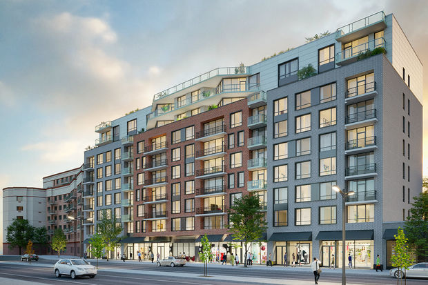 One Sixteen is the first in multiple buildings planned by The Marcal Group for Beach 116th Street in Rockaway Park, which was devastated by Hurricane Sandy.