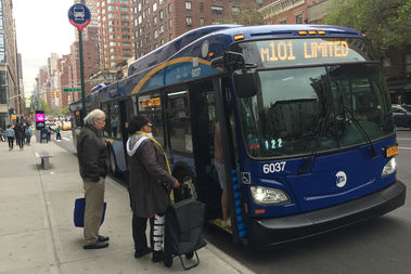The M101 is one of the East Side bus routes to get new buses.