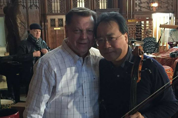 World famous cellist Yo-Yo Ma will be headlining a special concert for peace at St. Sabina Church this summer.