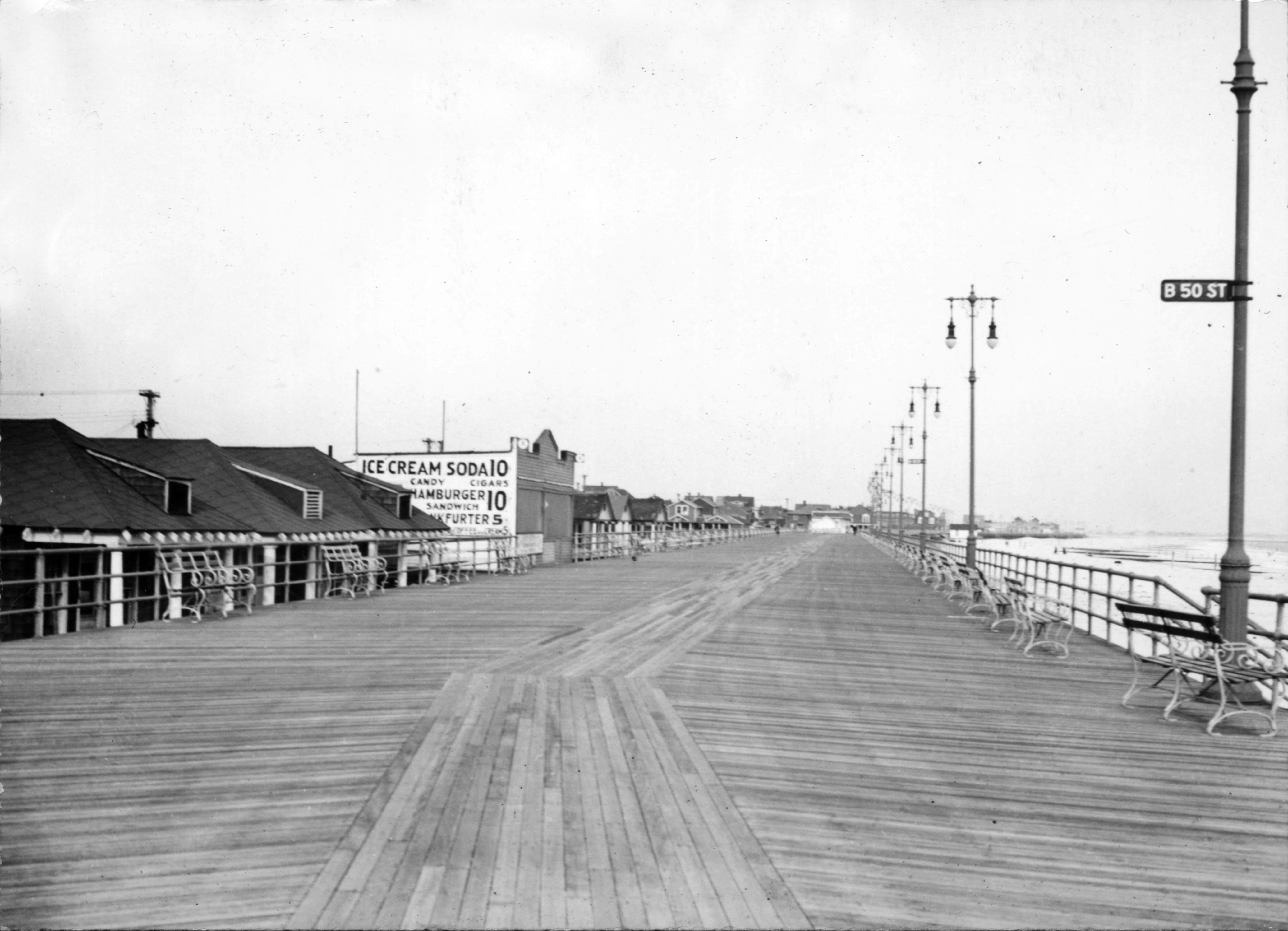 Rockaway Beach Boardwalk Concrete « Inhabitat - Green