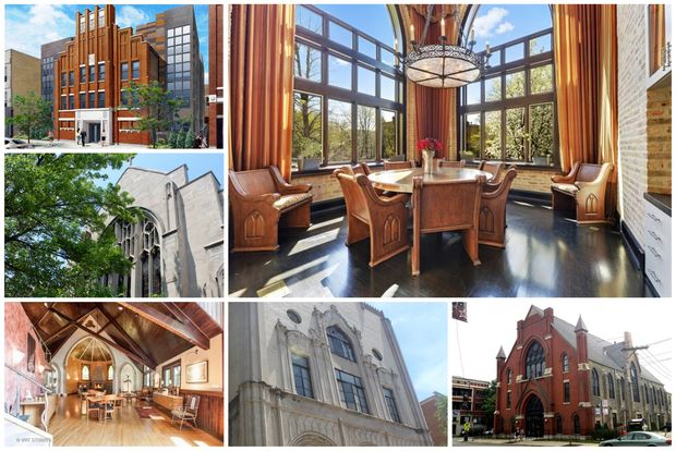 Chicago is home to dozens of converted churches now used as homes.