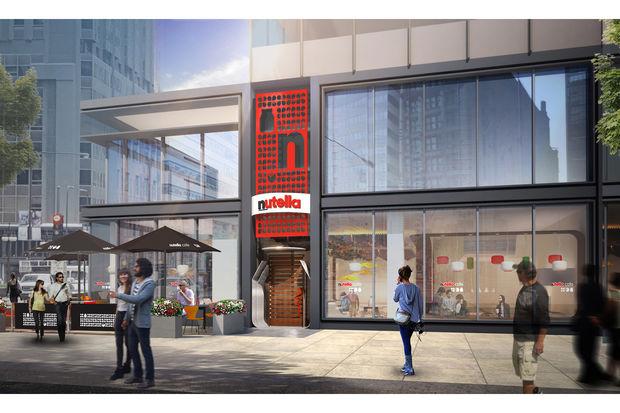 Ferror, the owners of Nutella announced it will open the two story Nutella Cafe at 151 N. Michigan Ave., on the southeast corner with Lake Street.