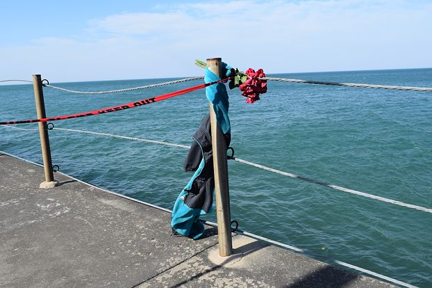 Tianna Hollinside, 13, died after plunging into Lake Michigan Tuesday.
