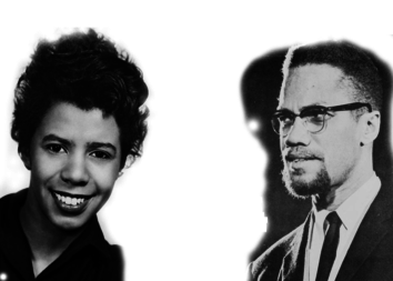 Lorraine Hansberry and Malcolm X share a birthday on May 19.