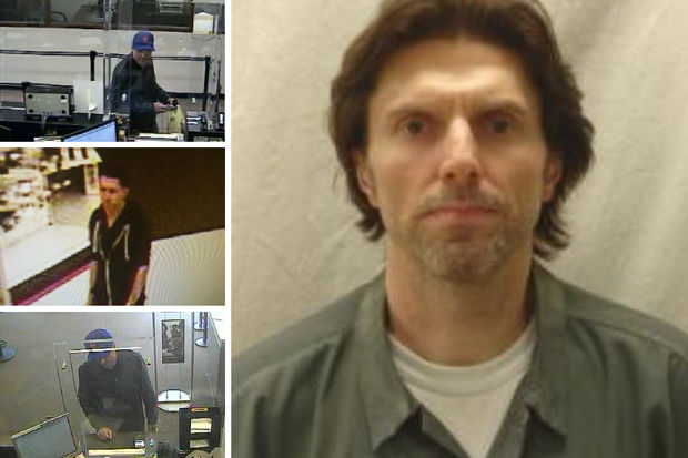 Police arrested Jon Waulters, 50, for robbing several banks across the city, they said.