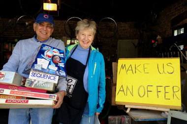 Ravenswood Manor hosts one of the most popular community-wide yard sales on Sunday, 10 a.m. to 4 p.m.