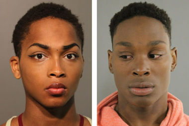 Kenneth Manning (left) and Edward Smith (right) are charged with robbery.