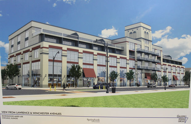 Sears Redevelopment Renderings