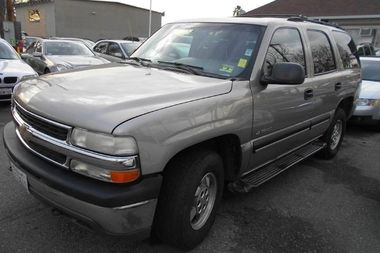 A 2001 Chevy Tahoe.