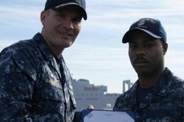 Cousin's Death Motivates Navy Vet To Finish School