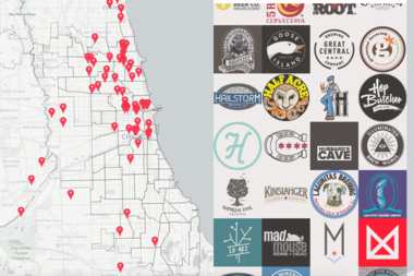 The Ultimate Map Of Chicago's Craft Beer Scene: How Many Have You Tried?