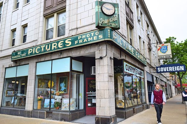 Edgewater\'s Beloved Granville Frame Shop To Close After Nearly 90 ...