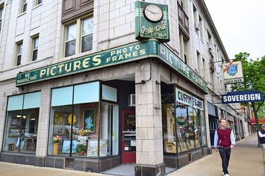Edgewater's Beloved Granville Frame Shop To Close After Nearly 90 Years