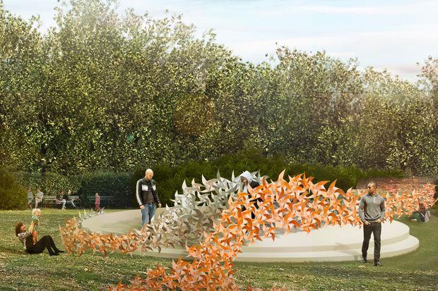 Prospect Park 39 S Rose Garden To Get Art Installation And Renovation Prospect Lefferts Gardens