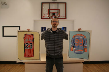 Zissou Tasseff-Elenkoff is gearing up to open his own gallery, All Star Press, at 2755 N. Milwaukee Ave., which will be focused on sports-related art, including prints of classic jerseys.