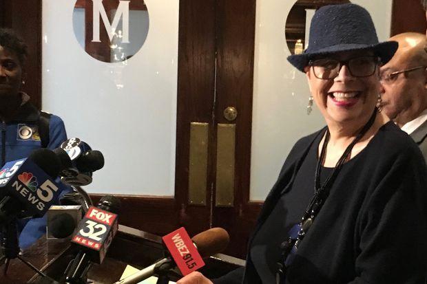 Chicago Teachers Union President Karen Lewis suffered a stroke Thursday.