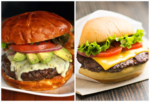 Both known for their burgers, Kuma's Corner and Shake Shack open in Fulton Market Wednesday.