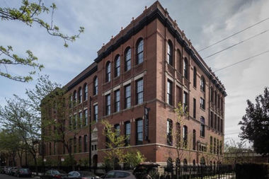 Mulligan School held an open house Tuesday in its new role as a luxury apartment building.
