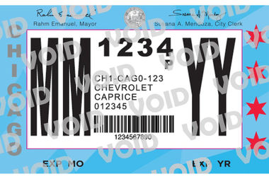 City vehicle stickers and residential permit parking passes will be sold from noon-4 p.m. Thursday at Ridge Park in Beverly.