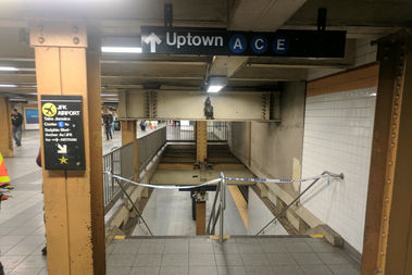 Man Hit by Train at 14th Street Station, MTA Says