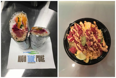High Tide Poké To Bring Fresh Fish Bowls & Wraps To The Loop Thursday