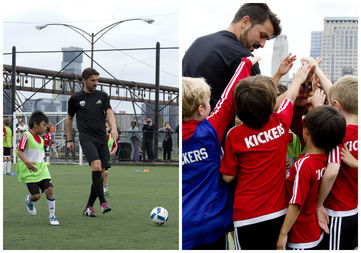 Soccer star David Villa is expanding his network of youth soccer academies to Queens.