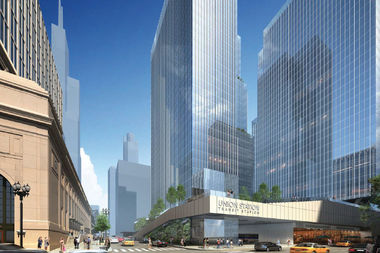 Union Station Redevelopment Includes 5 New Towers, Food Hall, Rooftop Plaza