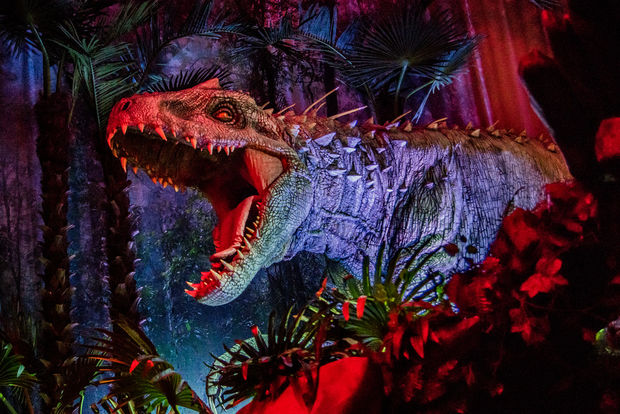 "Step into a world of dinosaurs at the Field Museum's new ""Jurassic World"" exhibit opening Friday."
