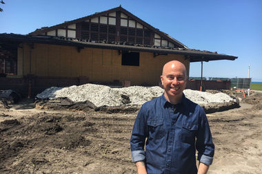 Cleetus Friedman gives the Lakefront restaurant at Theater on the Lake a new chef to go with its new decor.