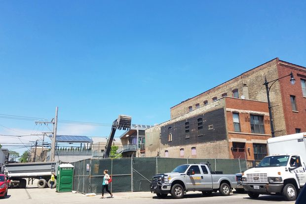 The building that most recently housed The Southern, and before that Chaise and Iggy's, was demolished on Wednesday.