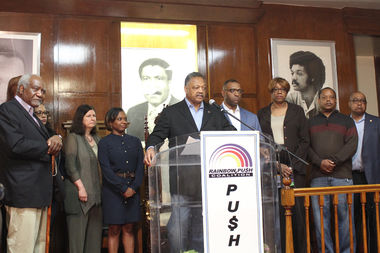 African-American political leaders on Friday pledged renewed focus on unemployment in Illinois.